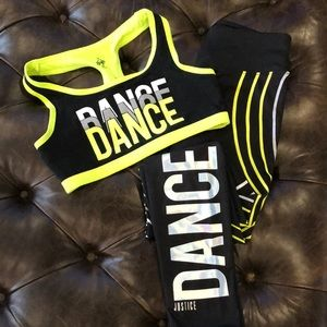 Girls Active Wear - DANCE
